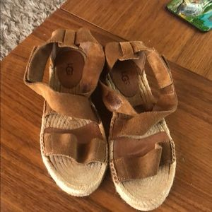 UGG Sandals Very soft and comfortable sandal SZ 6